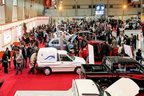 ب ام و در نمایشگاه خودرو اصفهان حضور مییابد