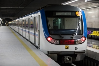 رفع نقص قطار در خط 3 مترو