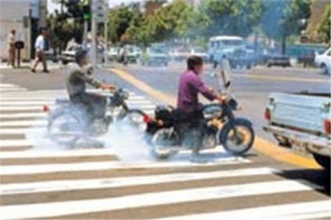 ۵۰ درصد موتورسیکلتهای کشور فرسوده است
