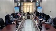 بازدید گروه اعزامی پروژه تحول سازمانی از ادارهکل راهآهن جنوب