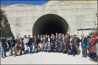 بازدید انجمنهای مردمی شهر مریوان از پروژه احداث جاده سنندج - مریوان