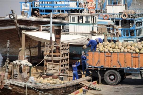 صادرات 70 هزار تن محصولات کشاورزی از بنادر خوزستان