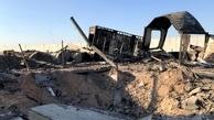 پایگاه هوایی عین الاسد پس از حمله موشکی ایران