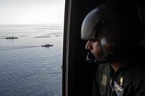 تصاویری از مانور دریایی ایران، روسیه و چین در سواحل چابهار را ببینید