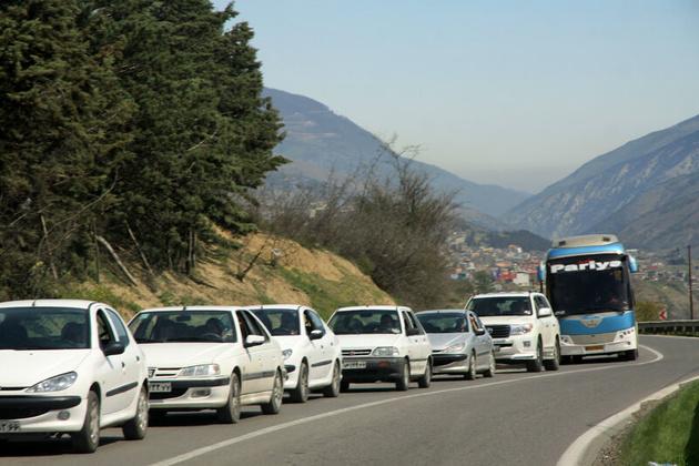 ممنوعیت تردد در محور کندوان و آزادراه تهران-شمال تا ساعت 17 امروز