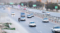 افزایش ۲.۳ تردد در محورهای برون شهری نسبت به روز گذشته