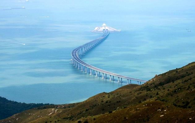 China's Xi opens world's longest sea bridge linking Hong Kong, Macau