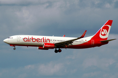 شرکت هواپیمایی ایر برلین اعلام ورشکستگی کرد