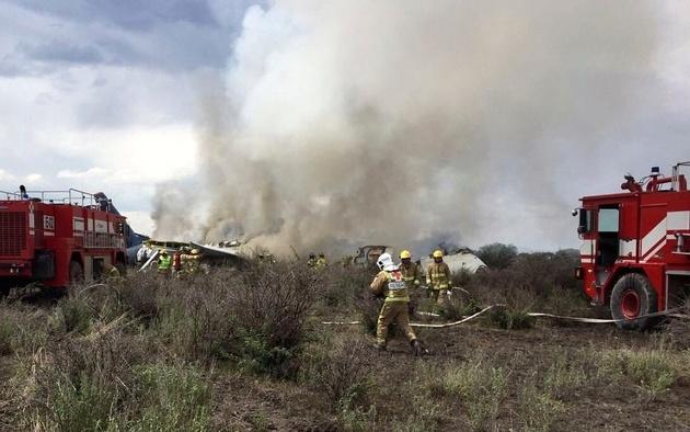 5 کشته در حادثه سقوط هواپیما در مکزیک