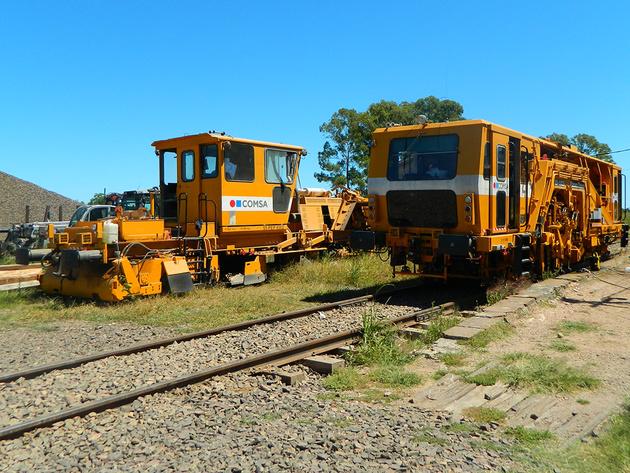 Track upgrading underway in Uruguay