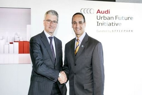 Audi to build new mobility strategy with Somerville in US