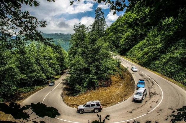 افزایش 25 درصدی تردد جادهای گیلان در نوروز 97
