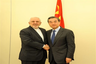 Zarif confers with Chinese counterpart