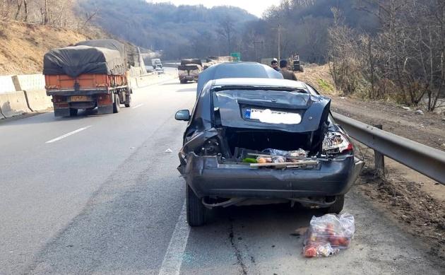 افزایش ۵۰ درصدی تصادفات رانندگی در محورهای هراز و فیروزکوه