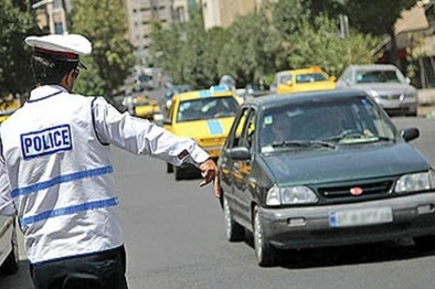 وضعیت ترافیک معابر بزرگراهی تهران در بیستوهفتمین روز از فروردین