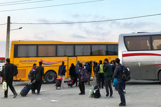 تامین ۳۰۰ دستگاه اتوبوس برای انتقال زائران از مرز مهران