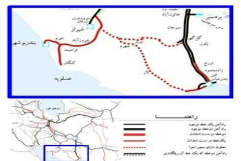 ◄ اجرایی شدن پروژه راه آهن بوشهر شیراز تا دو ماه آینده