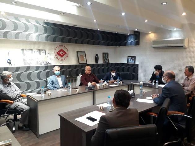 جلسه کمیسیون حمل و نقل ،گمرک و ترانزیت اتاق تعاون استان  تشکیل شد