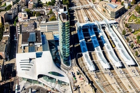 Rebuilt Arnhem Centraal station rewrites the rules