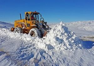 عملیات برف روبی در محورهای کوهستانی اردبیل