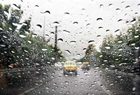 رگبار باران و وزش باد در ۶ استان کشور