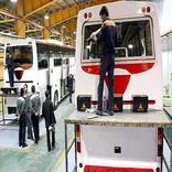 افزایش 54.5 درصدی تولید اتوبوس در آذر ماه