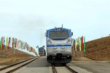 ضد عفونی قطار در مرز ریلی سرخس