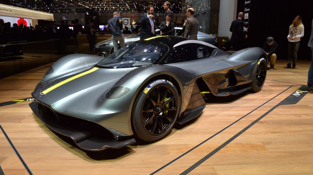 Cosworth Confirms Aston Martin Valkyrie Will Have World's Most Powerful Naturally-Aspirated Engine