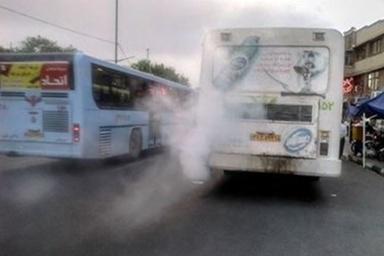 70درصد اتوبوسهای تهران نباید معاینهفنی بگیرند