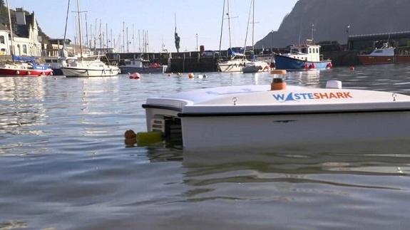 ربات زبالهخوار دریا و اقیانوسها