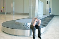 AIRPORT BAGGAGE PROBLEMS DECLINING