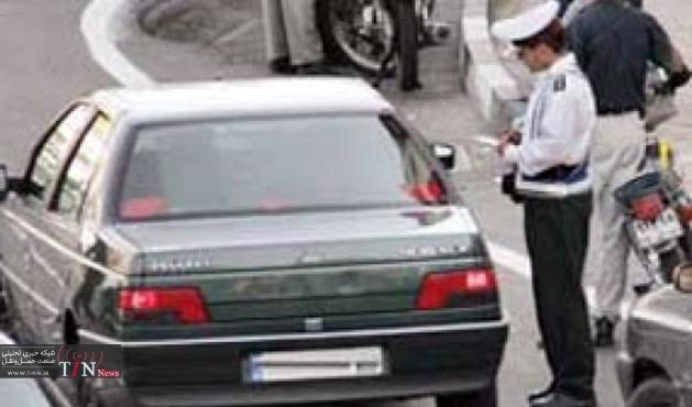 ترافیک نیمه سنگین در باند جنوبی آزادراه تهران - کرج
