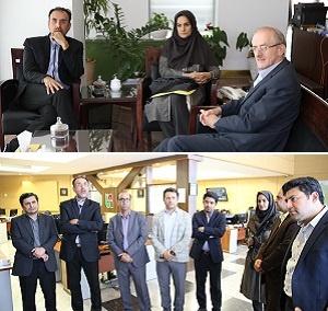 دیدار مدیر رادیو پیام و آوا با معاون وزیر راه و شهرسازی