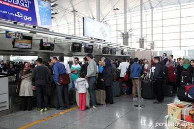 چند مسافر مشکوک به کرونا از فرودگاه امام خمینی دیپورت شدند