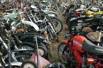 گورستان موتورسیکلتها در آریزونا