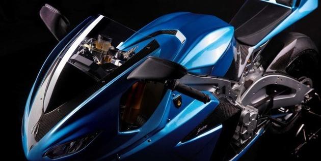 تولید سریع ترین موتورسیکلت برقی در جهان