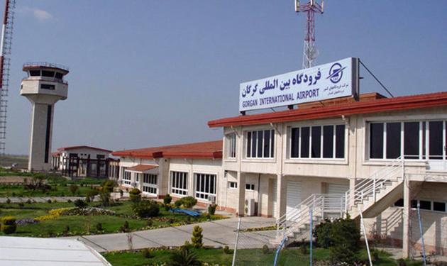 تکمیل پروژه بهسازی محوطه مقابل ترمینال فرودگاه گرگان