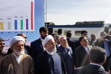 راهآهن تهران-همدان افتتاح شد