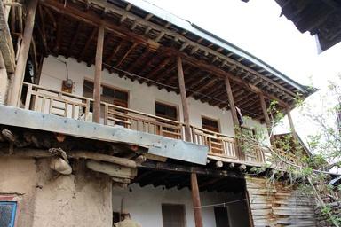 مرمت سه خانه تاریخی در الموت