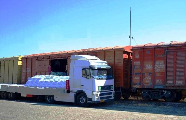 صادرات ریلی از مرز سرخس افزایش یافت