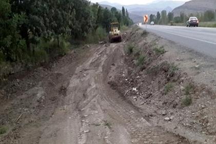 گزارش تصویری / آغاز پروژه تعریض جاده ورودی منطقه آزاد ماکو