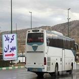 13 مجروح در تصادف اتوبوس زائران ایرانی در عراق