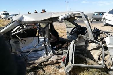 تصادف در محور طبس - یزد چهار کشته برجا گذاشت