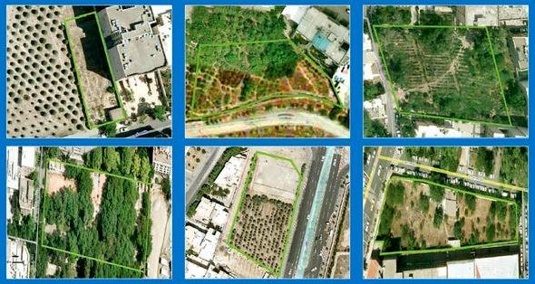 تخریب منابع اکسیژن تهران با متری یکمیلیون تومان