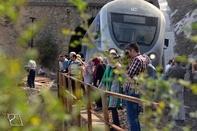 گردشگران 11 کشور با قطار زندگی «رجا» ایرانگردی میکنند