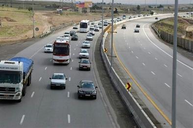 ثبت ۱۳ میلیون تردد در جادههای استان زنجان