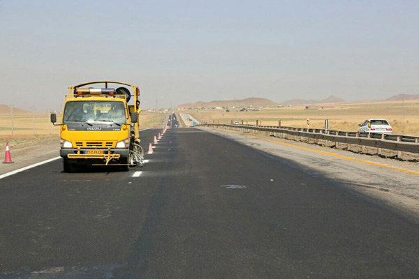 خط کشی ۲۶۰ کیلومتر از جادههای مازندران