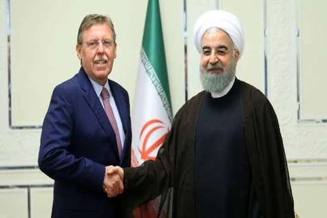 Iran urges EU to press US for JCPOA commitment