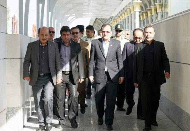 افتتاح پروژههای عمرانی، آموزشی و ورزشی در فرودگاه مشهد