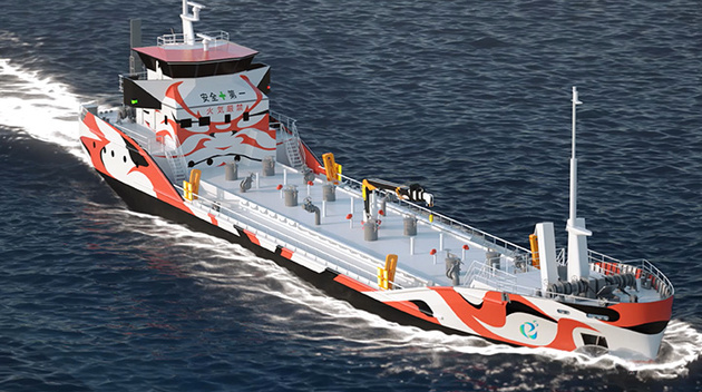 MOL, Partners Join Forces to Develop Fully Electric Vessels